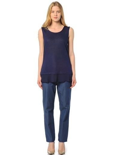 Caramel Bluz Lacivert